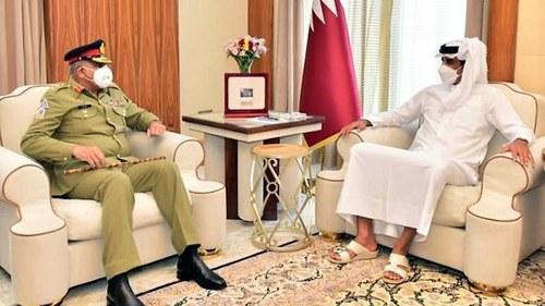 COAS, Qatari leadership discuss defence, security issues