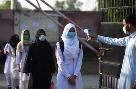 Several staff members from four Karachi government colleges found infected with COVID-19