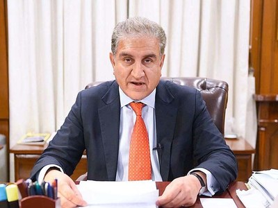 Qureshi urges patience, perseverance, flexibility during Afghan peace talks
