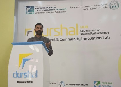Bangash urges youth to avail opportunities in IT Sector
