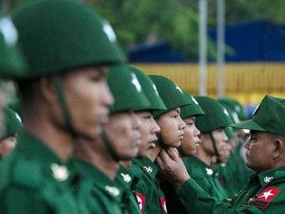 Myanmar army plays down coup rhetoric as fears swirl