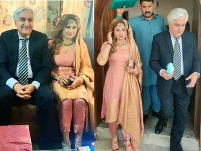 Social media abuzz with Iftikhar Gilani's marriage to a 21-year-old woman