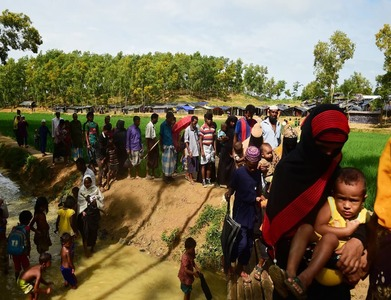 Rohingya refugees condemn Myanmar coup: community leader