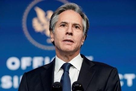 Top US diplomat Blinken calls on Myanmar military leaders to release Suu Kyi, others