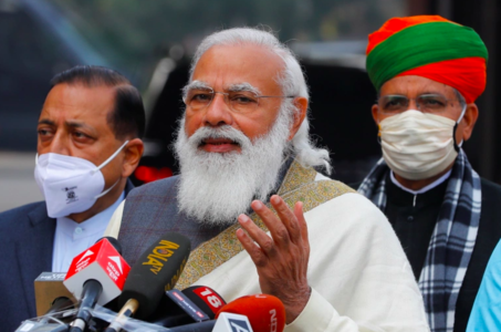 Modi breaks his silence on escalating farm laws protests