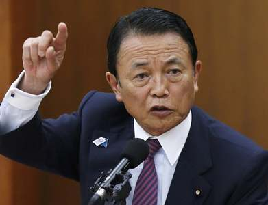 Japan, US reaffirm readiness to use bold steps to escape crisis: Aso