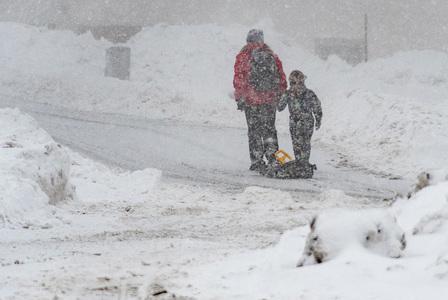 Huge snowstorm hits US east coast disrupting virus vaccinations