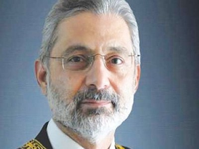 Justice Qazi Faez Isa's cell phone hacked: SC spokesman