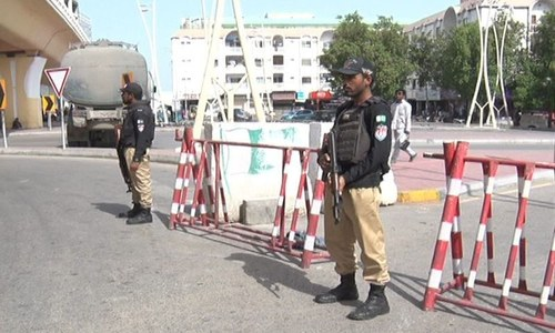 Security put on high alert in Karachi after threat of possible terror attack