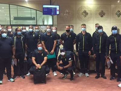 South Africa's T20I squad arrives in Pakistan
