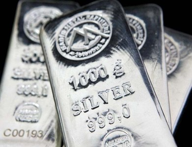 US MIDDAY: Silver rises over 2pc