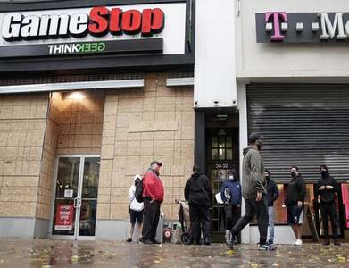 Number of GameStop shares shorted edges lower