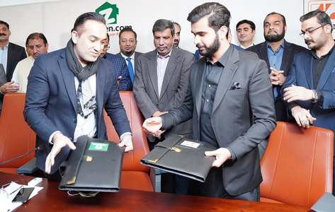 Zameen Developments, Zedem International sign MoU to construct luxury apartments project at Faisal Town Islamabad