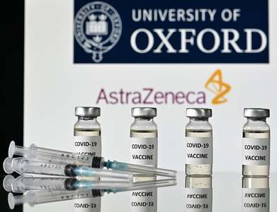 Oxford says COVID-19 vaccine with AstraZeneca works against UK variant