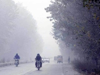 Fog likely in Punjab's few plain areas today