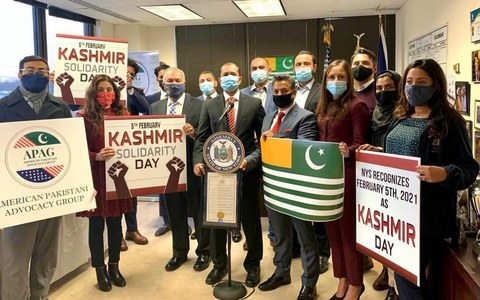 New York becomes first state in US to proclaim February 5 as Kashmir Day