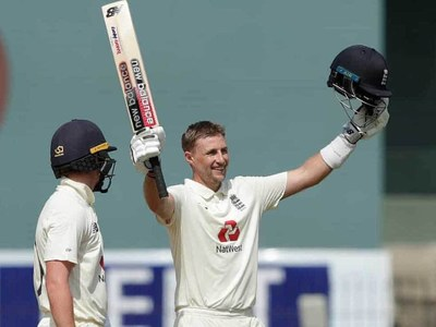 Root hits double ton as England reach 555-8