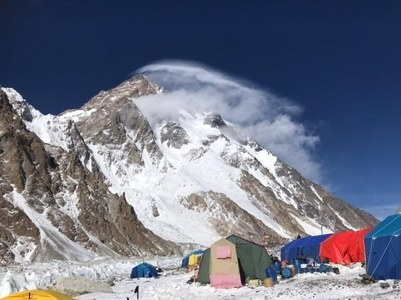Army helicopters continue search mission for missing K2 climbers