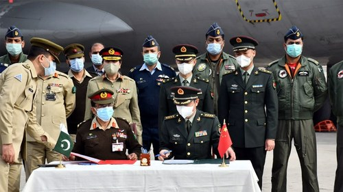 China donates COVID-19 vaccine to Pakistan's Armed Forces
