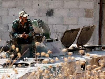 IS ambush kills 26 pro-regime fighters in Syria: monitor