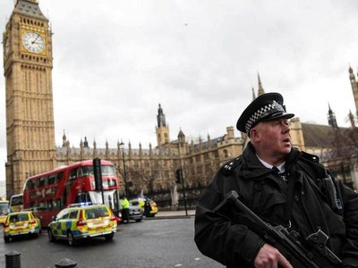 Britain lowers terrorism threat level to 'substantial'