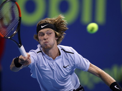 Red-hot Rublev races into Australian Open second round