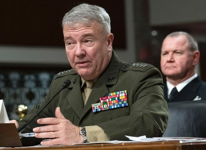 U.S CENTCOM Commander reviewing Taliban peace deal, concerned about escalating violence
