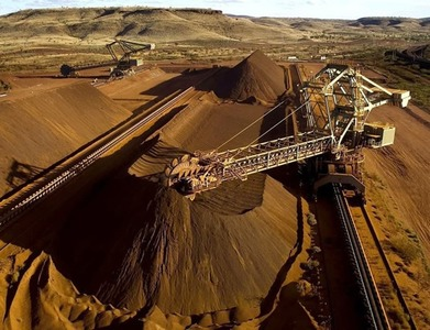 China's iron ore futures rise on pre-holiday trade