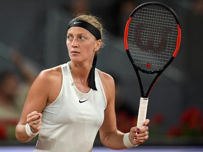 Kvitova stunned by Cirstea in Open second round