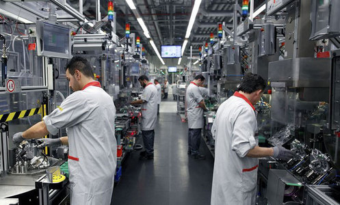 China's factory prices snap year-long decline as demand recovers