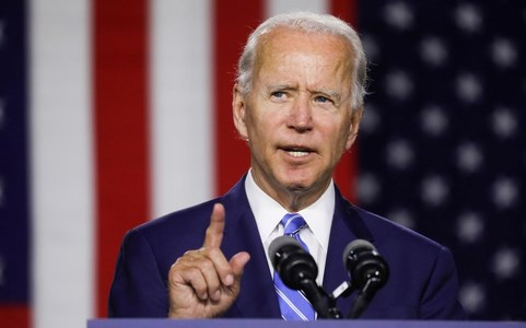 Biden, meeting business leaders, backs stricter income limits for stimulus checks