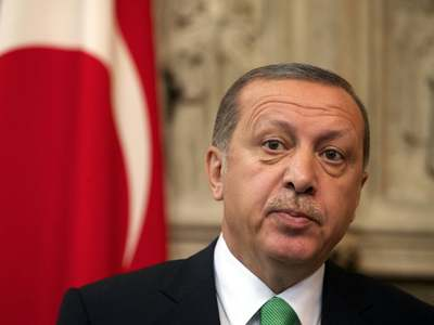 Turkey's Erdogan says two-state solution only option for Cyprus