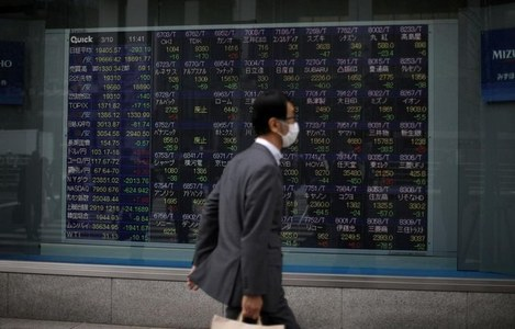 Asia stocks hold at highs, sustained by bottomless stimulus