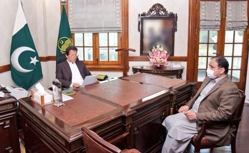 PM, Usman Buzdar discuss Punjab's overall situation