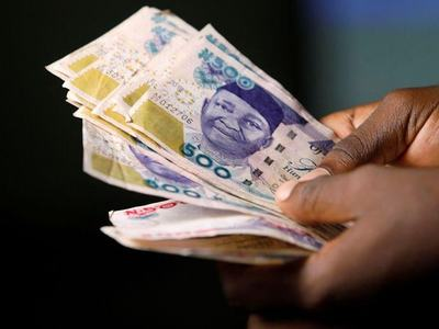Nigerian naira eases 1.75pc on spot market to 410.50 per dollar