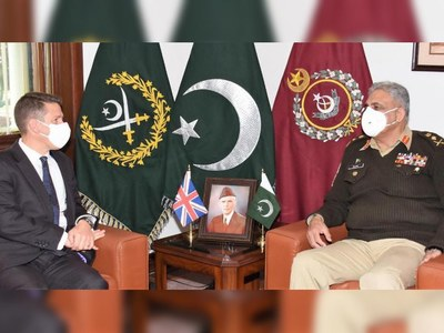 British High Commissioner, COAS Bajwa discuss Afghan peace process