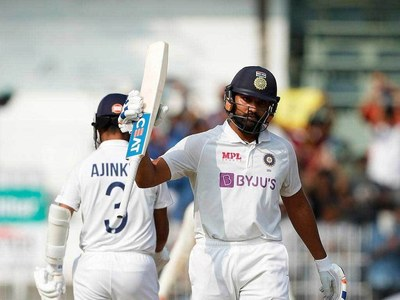 Sharma 161 helps India to 300-6 in second Test