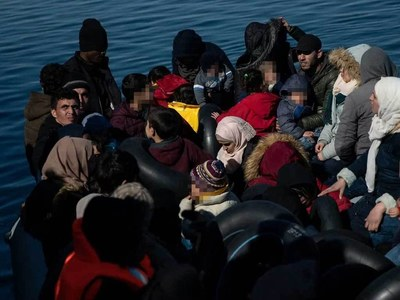 Greece calls migrant pushback claims 'fake news'