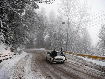 Murree, Nathiagali likely to receive snowfall from Feb 21: Spokesman PMD