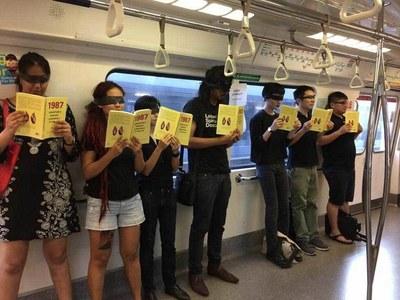 Singapore activist jailed for train protest