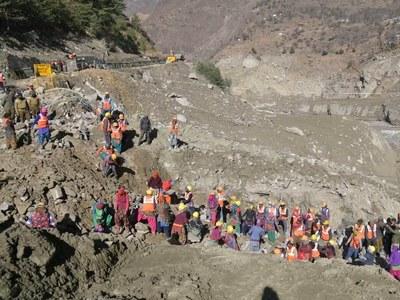 Himalaya flood disaster hits Delhi water supply