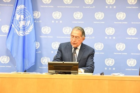 UNSC must utilize its mechanisms to promote political solutions to long-standing disputes: Munir Akram