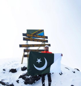 Asad Ali Memon becomes first Asian and Pakistani to climb Africa's highest peak in less than 24 hours