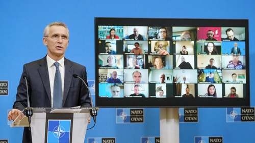 NATO says will not withdraw forces from Afghanistan 'before time is right'