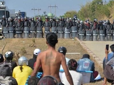 Myanmar junta cuts internet again to grind down anti-coup rallies