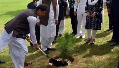 PM launches plantation campaign in Islamabad, says govt committed to make Pakistan green