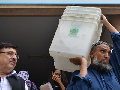 Nine candidates contesting NA-75 by-polls