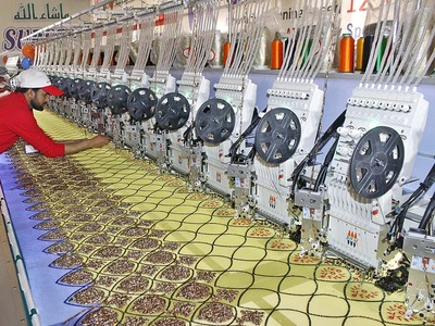 January textile group exports decline 5.54pc MoM