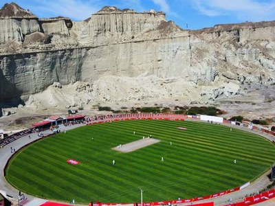 Aaj Entertainment broadcasts first-ever cricket match live from Gwadar