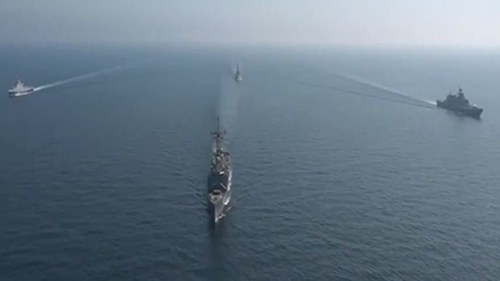 Aman 2021: Pakistan Navy conducts joint exercises with Russian, Sri Lankan naval forces